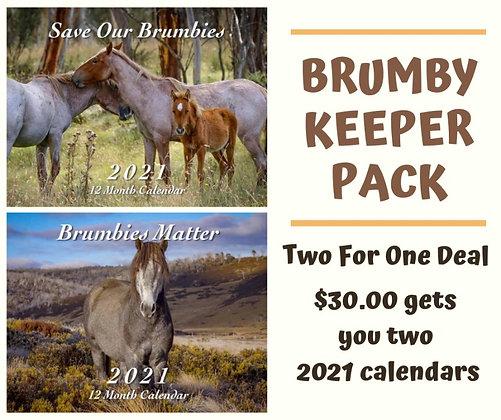 Brumby Keeper Pack