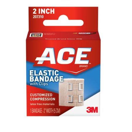 """ACE 2"""" Elastic Bandage w/Clips"""