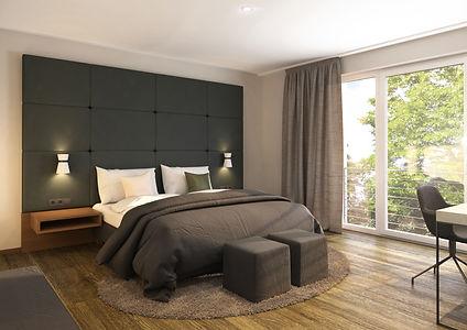 Hotel Doppelzimmer Einzelzimmer Hochzeitssuite barrierefrei Balko Terrasse