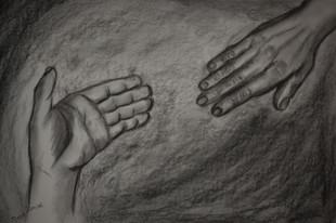 Elkaar de hand reiken