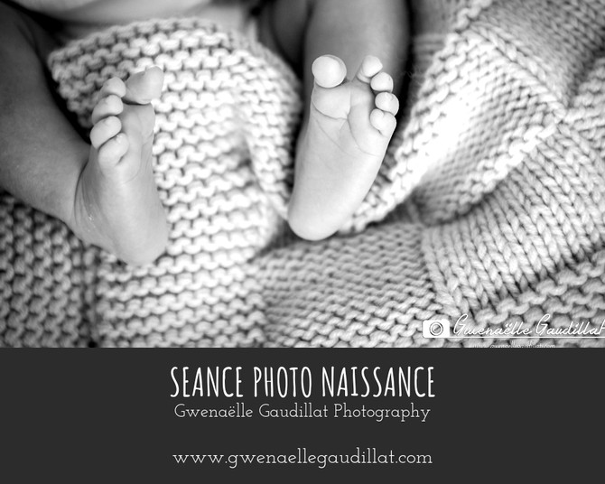 Photographe studio naissance