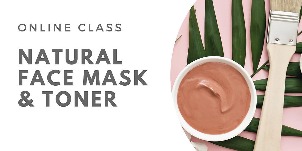 Natural Face Mask and Toner