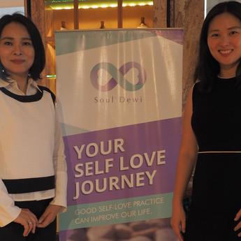 Felicia and Dewi SSL Launching.JPG