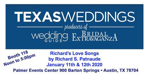 TX Wedding & Bridal 01-11-20  & 01-12-20