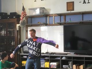 Haldane Middle School Visit