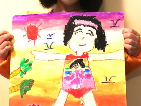 畫畫怎樣提升兒童的腦部去記憶文字?