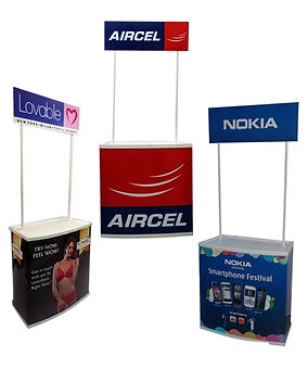 Pop Up Promotional Table pop up banner s