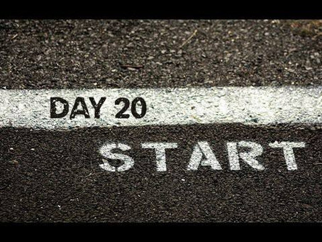 """ROAD to 31 Devotional Day 20- """"Beginning"""""""