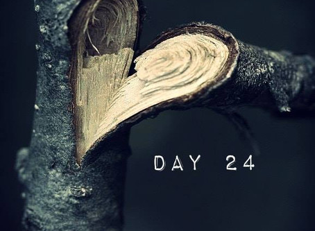 "ROAD to 31 Devotional Day 24- ""Broken Open"""