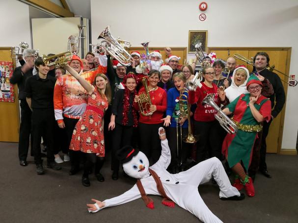 Cold Ash Brass Christmas Concert 2018