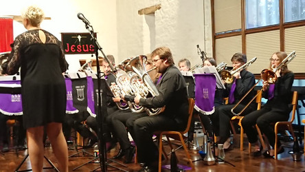Joint Concert with Abbey Brass June 2018