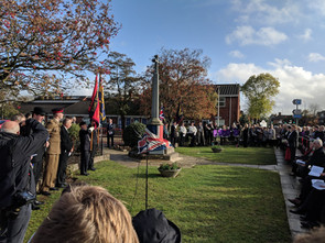 Remembrance Weekend 2018