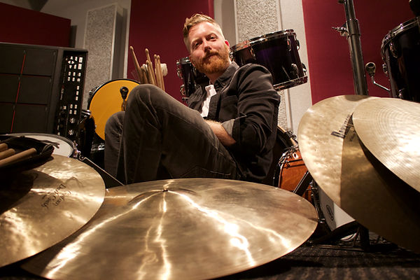 Matt Power teaches drums, guitar, bass, ukulele, song writing and Music Production at Play It Forward