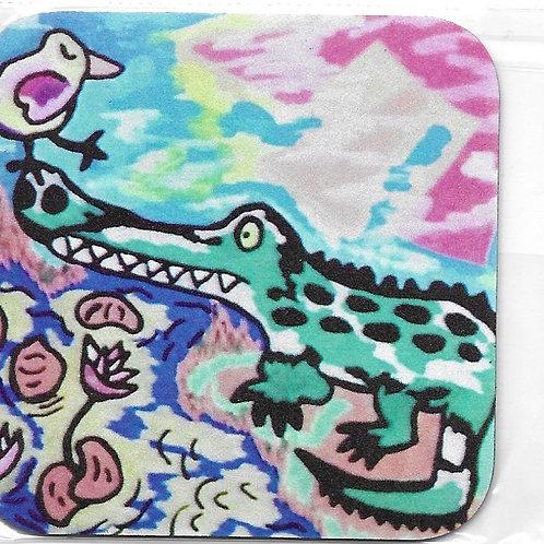 Magnet Crocodylus et Pluvian brosse à dents