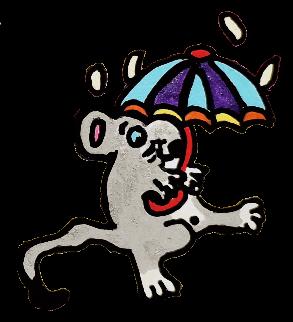 """Une petite souricette, tirée de """"Mamie Baba et Toudou l'éléphanteau"""" de Christelle Ciparis et Christine Dechico, publiée aux Editions Sydney Laurent. Collection NAÏF ET PAS BÊTE"""