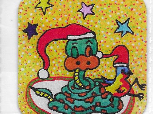 Magnet de Zazette et Tiboule de Noël 🤶