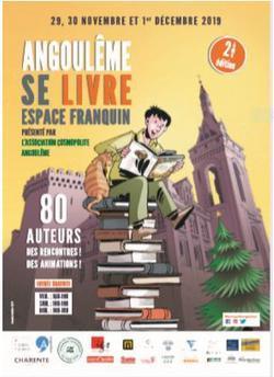 Salon du livre Angoulême 2019