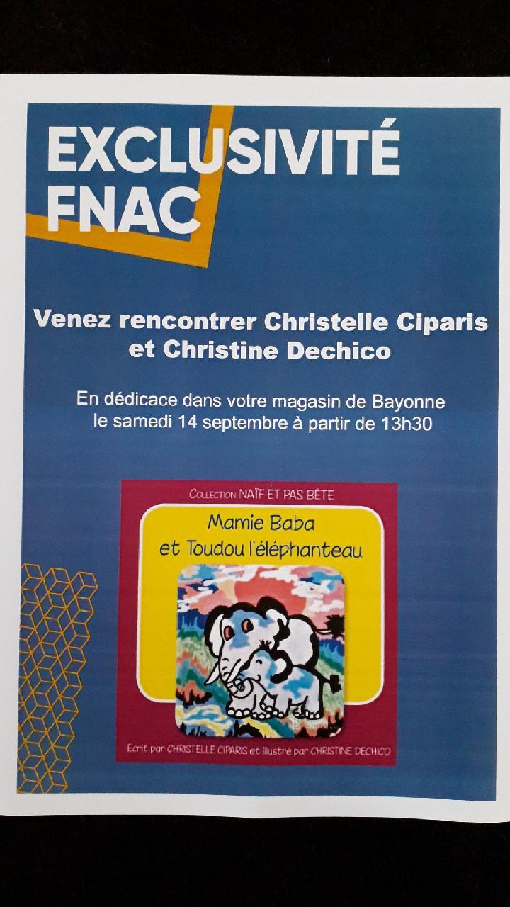 Dédicaces FNAC de Bayonne