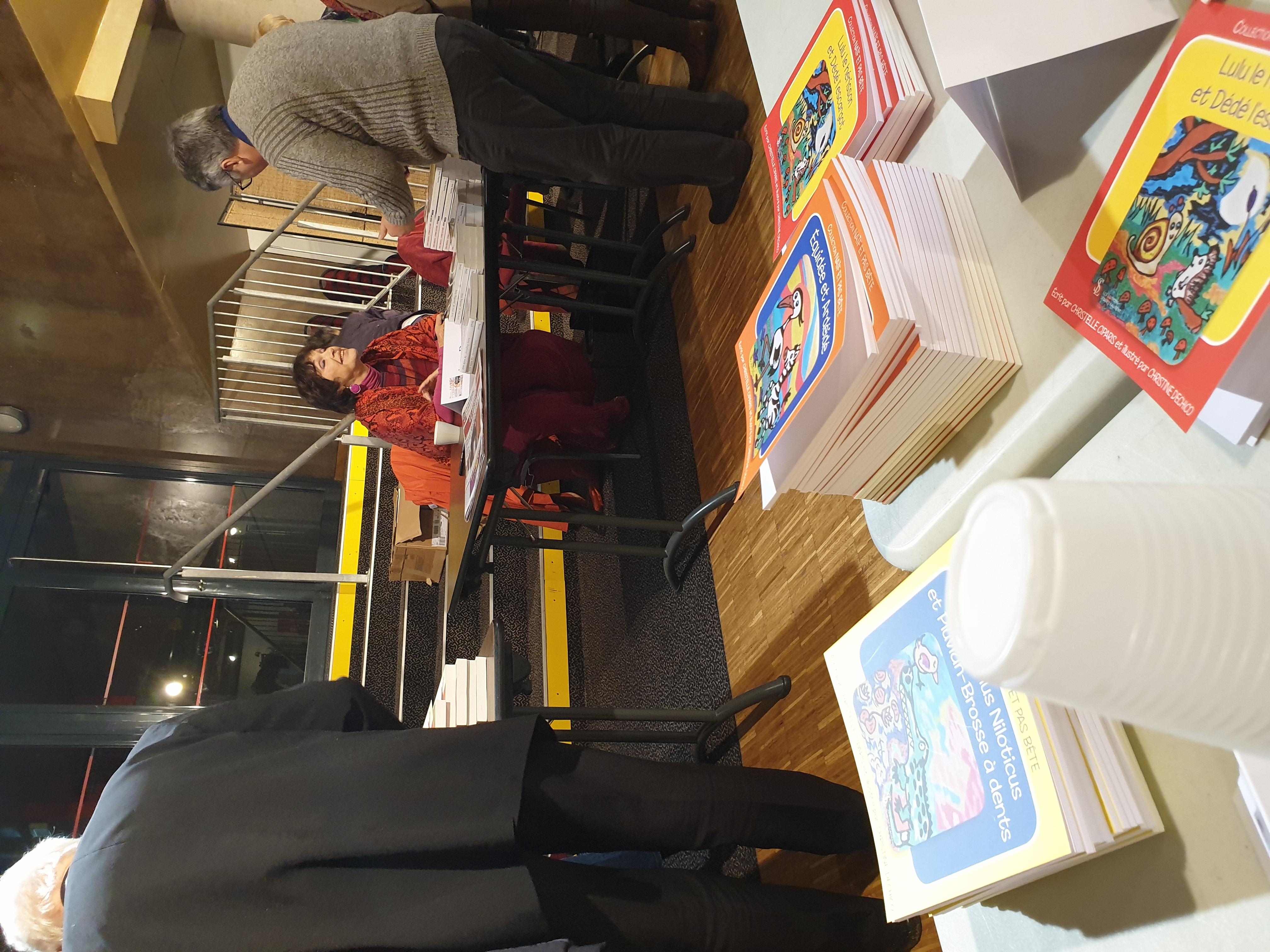 Nos livres au salon de Vierzon