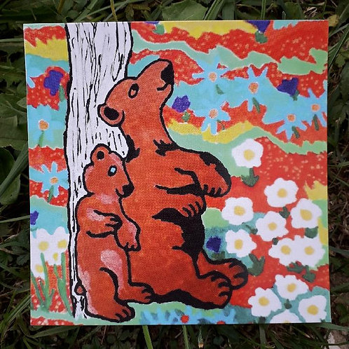 Carte postale de Colline et Montagne
