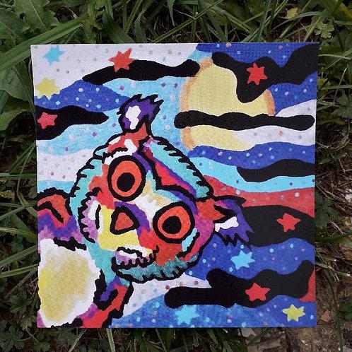 Carte postale de Bijou le hibou
