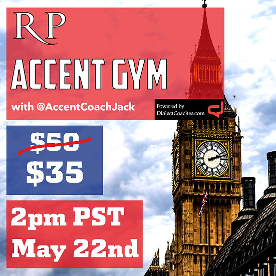 RP Gym - May 22nd @ 2pm PST