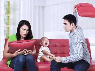 Os Malefícios de Brigar na Frente dos Filhos