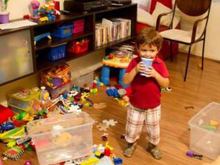 Como Manter Organizada Uma Casa Com Crianças?