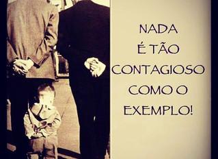 Que exemplo você dá aos seus filhos?
