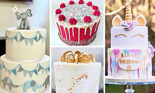 celebration cakes - The Cuppa Cakery Cornwall