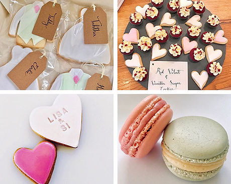 Wedding favours - The Cuppa Cakery Cornwall