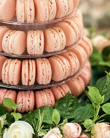 Wedding Macaron's by The Cuppa Cakery Cornwall