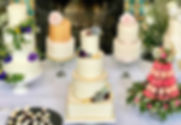 wedding cakes - The Cuppa Cakery