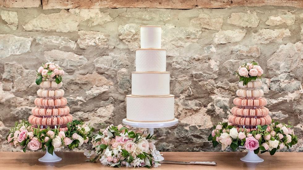 Cornwall Wedding Cake, The Cuppa Cakery Cornwall
