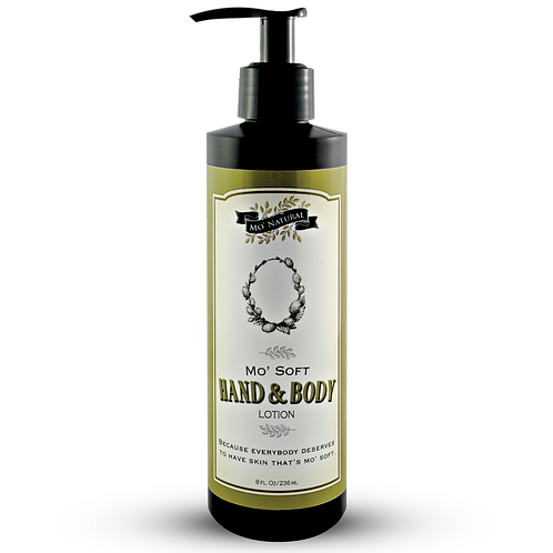 Mo' Soft Organically Based Hand & Body Lotion