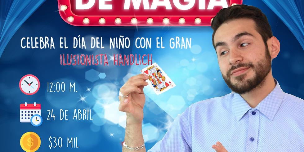 Show de magia online con Handlich