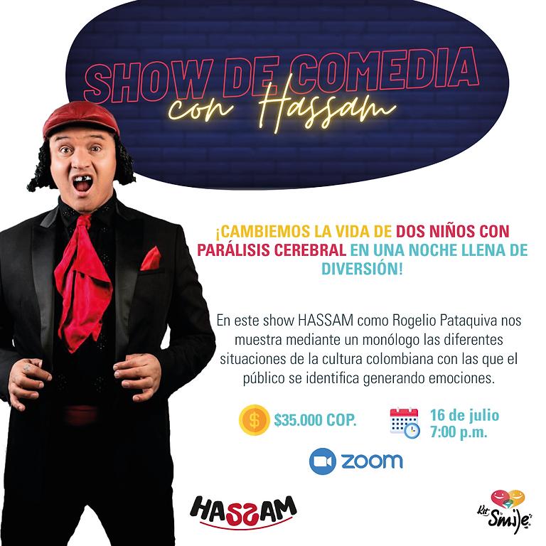 ¡Noche de comedia con Hassam!
