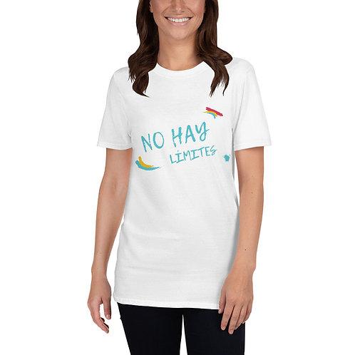 NO HAY LÍMITES Camiseta de manga corta unisex