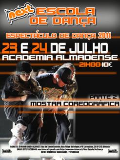 ESPETÁCULO NEXT 2011