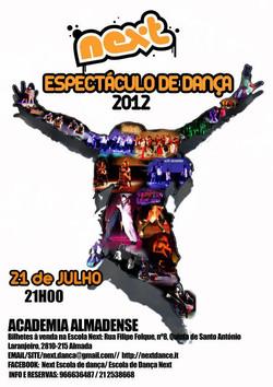ESPETÁCULO NEXT 2012