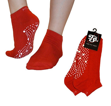 Red Grip Socks