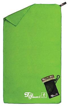 Green Microfibre Towel