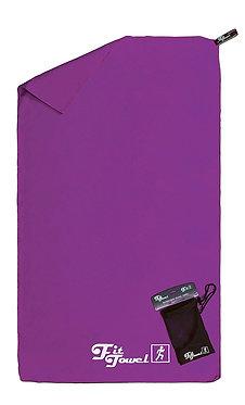 Purple Microfibre Towel
