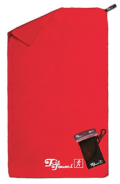 Red Microfibre Towel