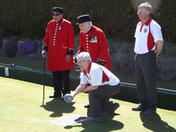 Visit of Chelsea Pensioners