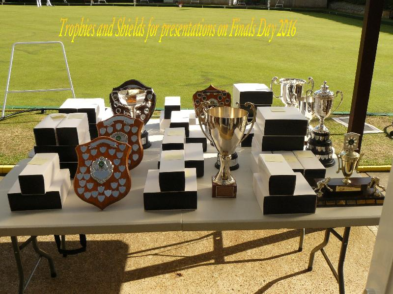 Finals Day Trophies
