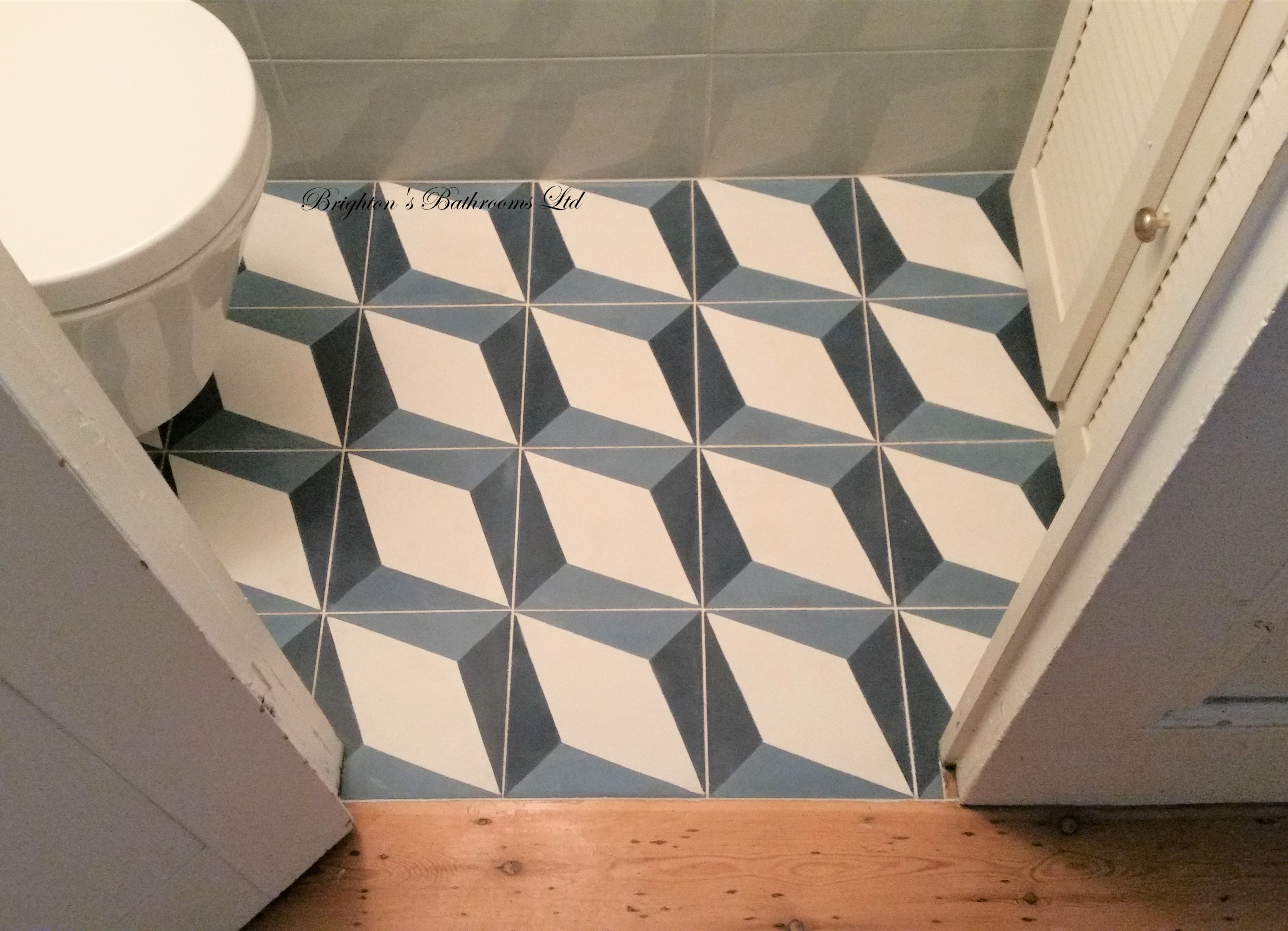 Florence road under-stair toilet