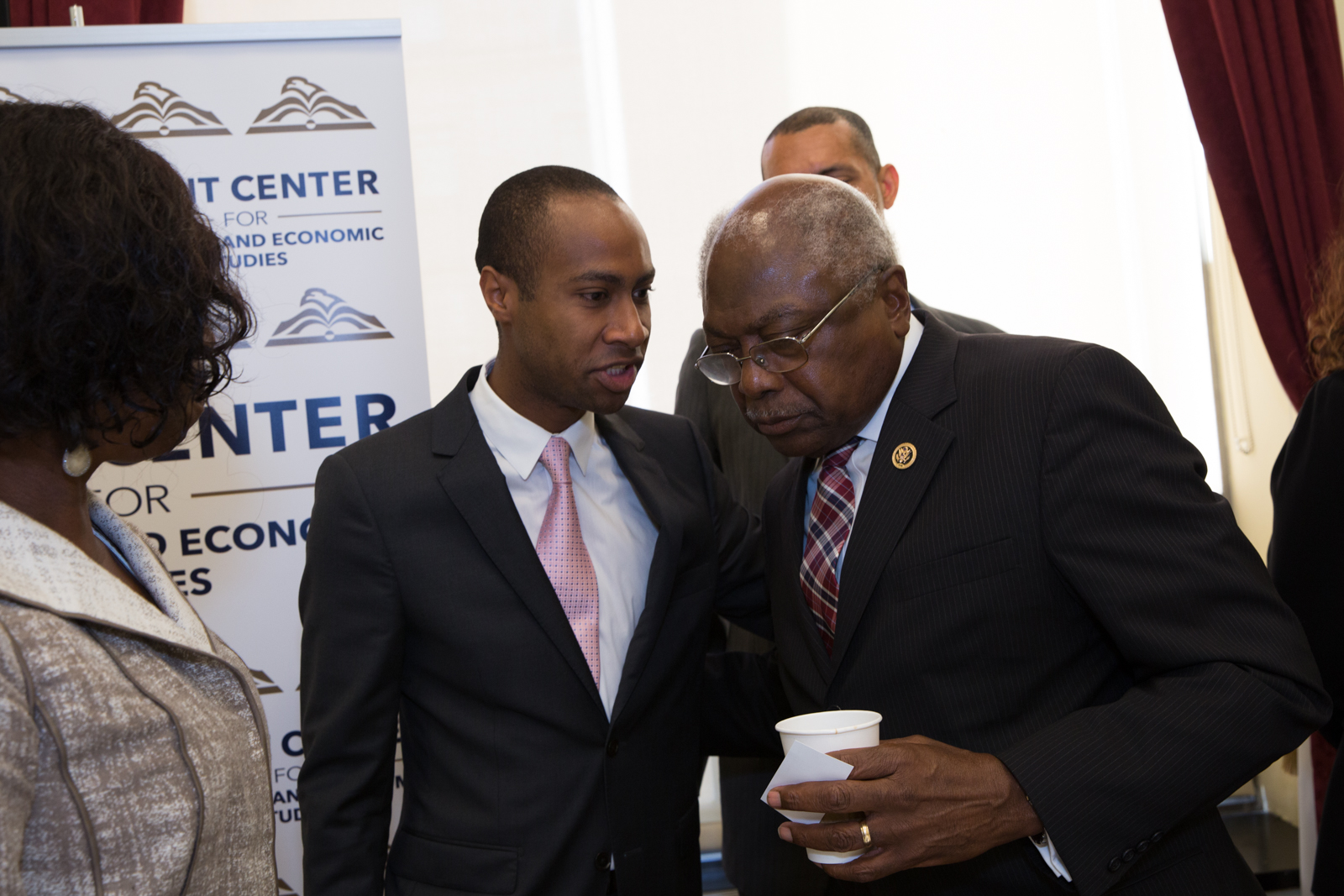 With Congressional icon Jim Clyburn