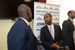 At Joint Center event