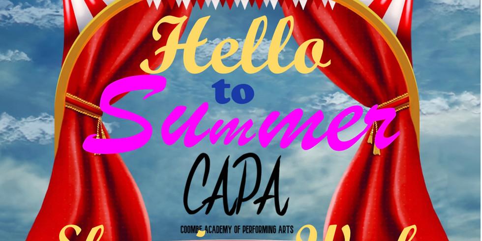 CAPA Summer School - Curtain Up